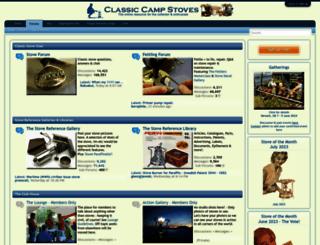 classiccampstoves.com screenshot