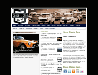 classiccarmag.net screenshot