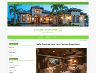classiccinemaimages.com screenshot