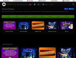 classicgame.com screenshot