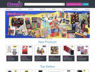 classicwholesalers.co.za screenshot