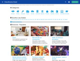 classificados-brasil.com screenshot