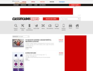 classificadosagora.com.br screenshot