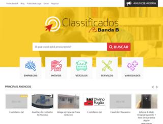 classificadosbandab.com.br screenshot