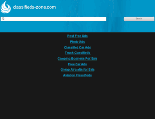 classifieds-zone.com screenshot