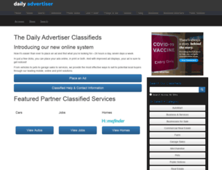 classifieds.theadvertiser.com screenshot