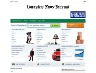 classifiedshome.news-journal.com screenshot
