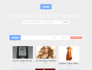 classimap.net screenshot