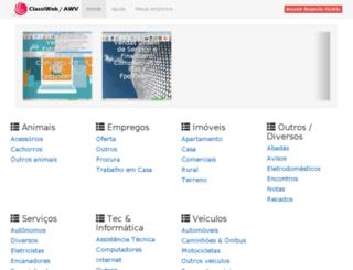 classiwebgratis.com.br screenshot