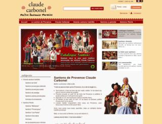 claude-carbonel.com screenshot