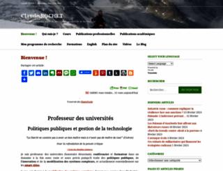claude-rochet.fr screenshot
