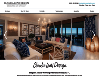 claudia.decoratingden.com screenshot
