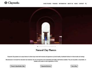 clay-works.com screenshot