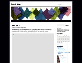 clbdanmoc.wordpress.com screenshot