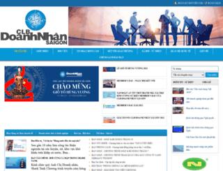 clbdoanhnhansaigon.vn screenshot