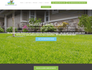 cleanairlawncareseattle.com screenshot