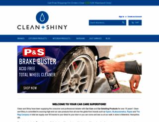 cleanandshiny.co.uk screenshot