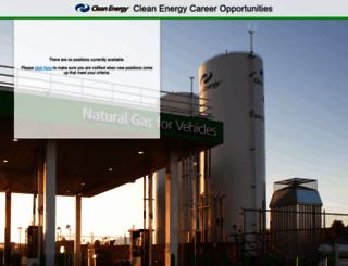 cleanenergyfuels.jobinfo.com screenshot