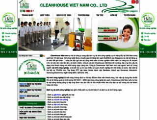 cleanhouse.com.vn screenshot