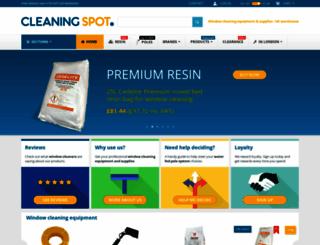 cleaningspot.co.uk screenshot