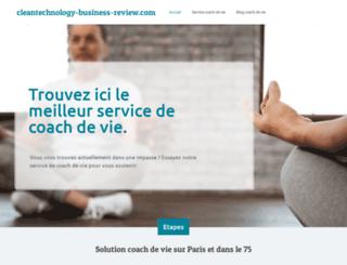 cleantechnology-business-review.com screenshot