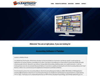cleantouch.com.pk screenshot