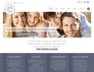 clearchoiceskincare.com screenshot