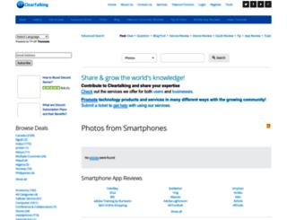 cleartalking.com screenshot