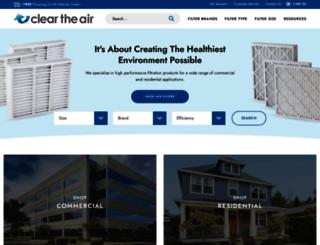 cleartheairinc.com screenshot