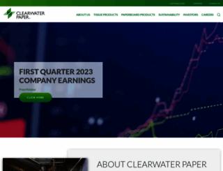 clearwaterpaper.com screenshot