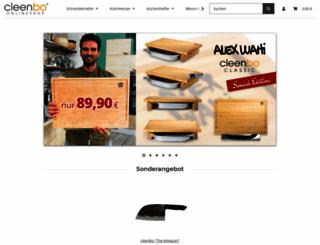 cleenbo.de screenshot