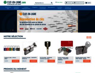 clef-en-ligne.com screenshot