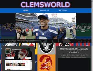 clemsworld.com screenshot