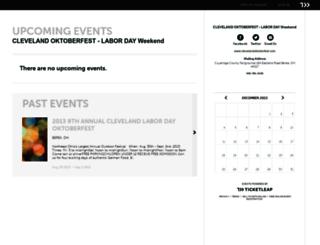 cleveland-oktoberfest.ticketleap.com screenshot