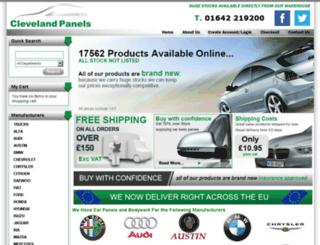 clevelandpanels.com screenshot