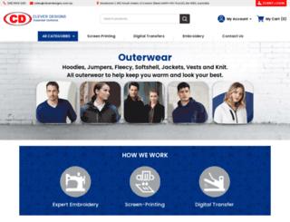 cleverdesigns.com.au screenshot
