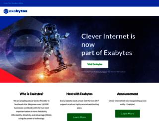 cleverinternet.co.nz screenshot