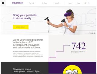 cleverlance.com screenshot