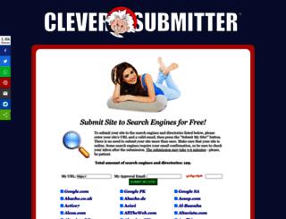 cleversubmitter.com screenshot