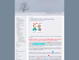 clg-villabe.ac-versailles.fr screenshot
