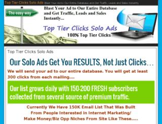 click2sells.com screenshot