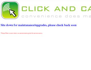 clickandcallus.com screenshot