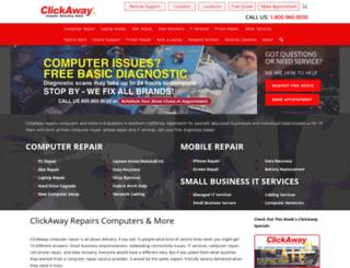 clickawaymobile.com screenshot