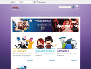 clickconta.com.br screenshot