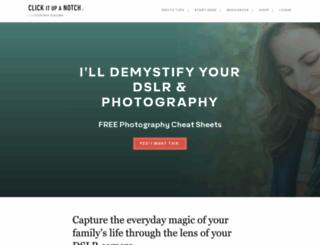 clickitupanotch.com screenshot