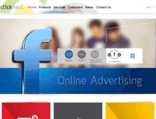 clicknect.com screenshot