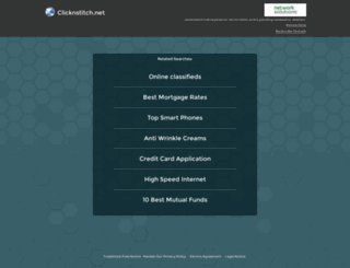 clicknstitch.net screenshot