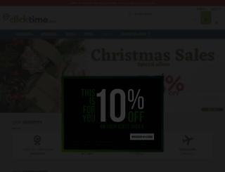 clicktime.eu screenshot
