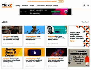 clickz.com screenshot
