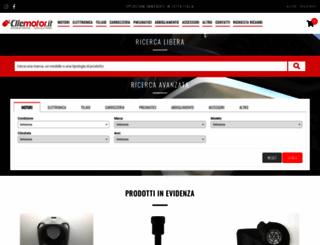 clicmotor.it screenshot